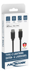 Type C / Lightning USB Daten- und Ladekabel 120 cm