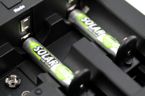 Solar NiMH Rechargeable battery AAA / HR03 550 mAh maxE 2 pcs.