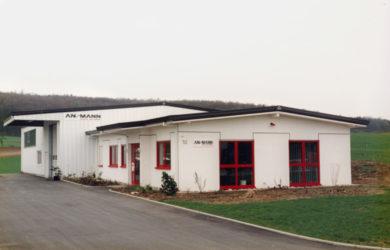 Flytting til industriområdet ANSMANN Accu-Technik GmbH