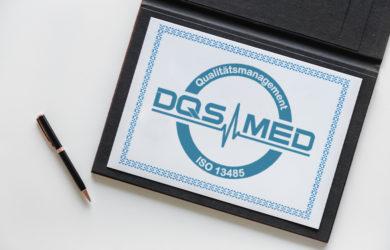 ANSMANN ist zertifiziert nach ISO 13485 (med.)