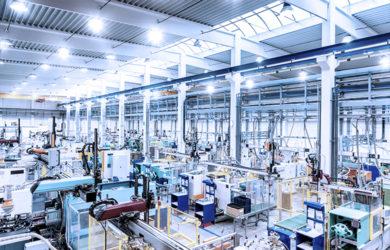Produksjonen blir utvidet og automatisert